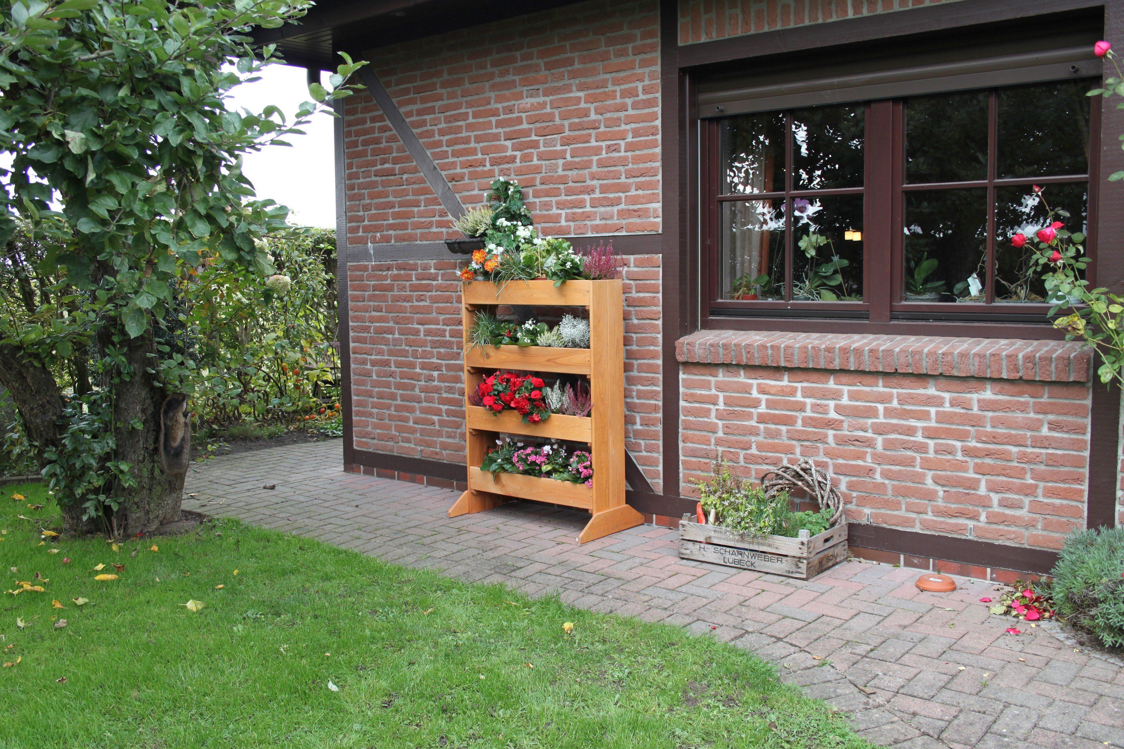 PROMADINO Blumentreppe , Vertikalbeet, BxTxH: 84x50x120 cm