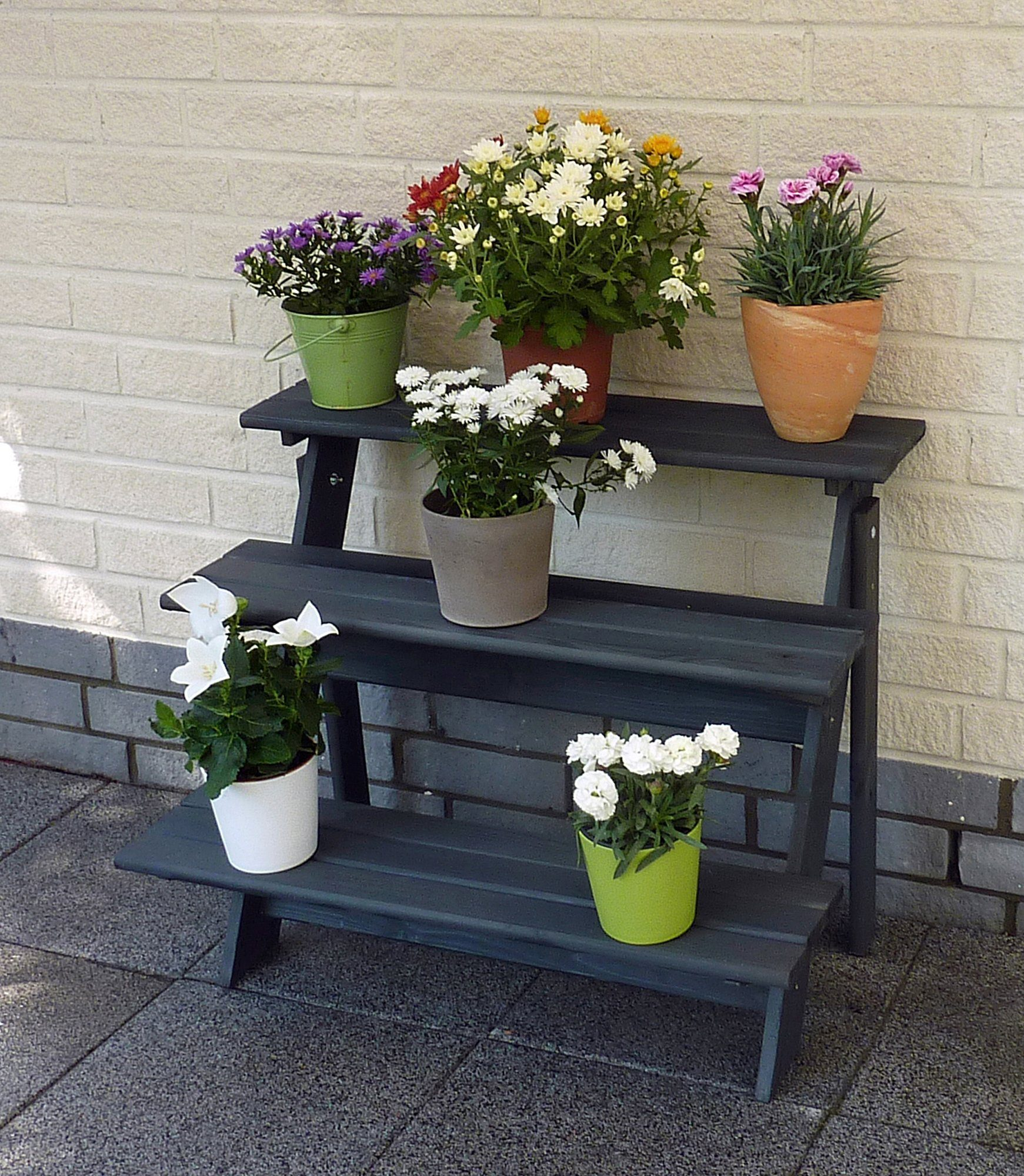 PROMADINO Blumentreppe »Anja«, BxTxH: 78x55x62 cm