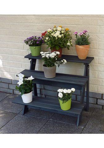 PROMADINO Gėlių lentynos »Anja« BxTxH: 78x55x62 ...