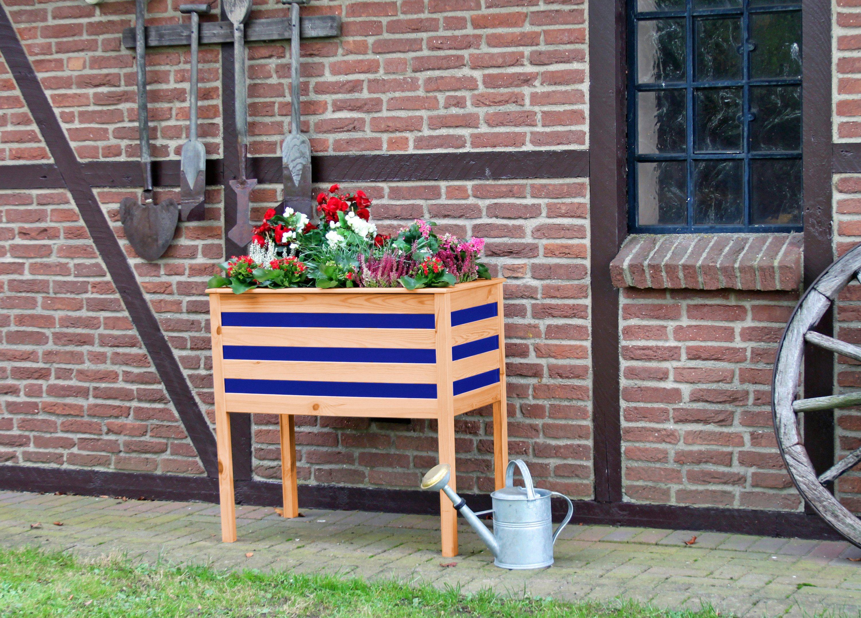 Pflanzkasten , auf Beinen, BxTxH: 88x48x90 cm   Garten > Pflanzen > Pflanzkästen   promadino