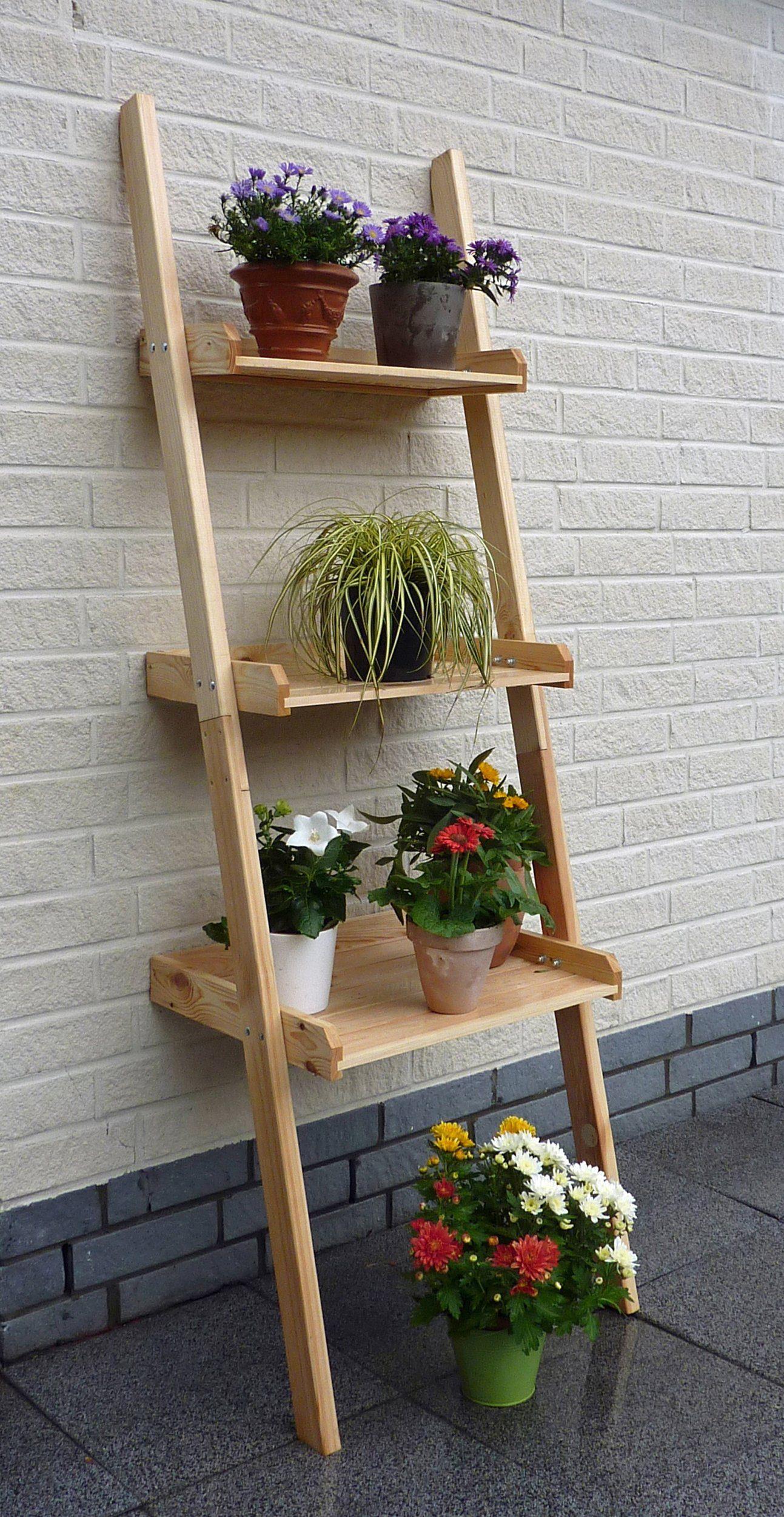 PROMADINO Blumentreppe »Kirsten«, BxTxH: 44,5x58x175,5 cm