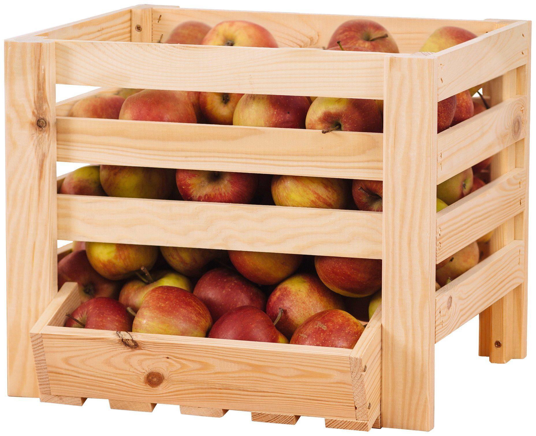 PROMADINO Obst- und Kartoffelkiste , BxTxH: 40x36x33 cm