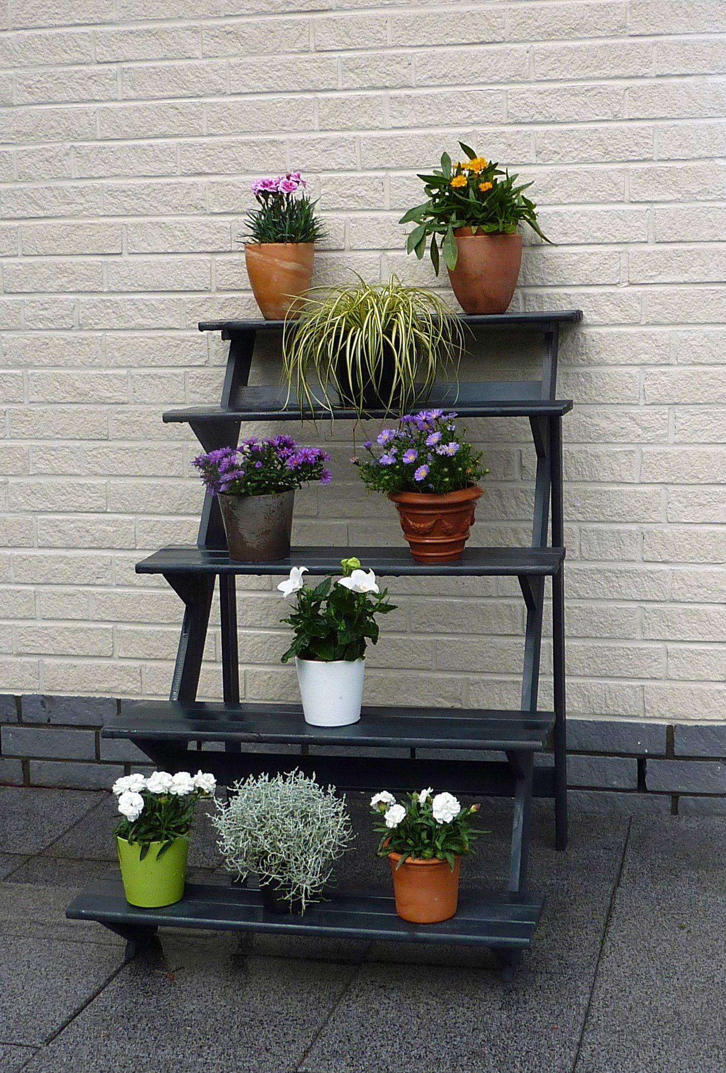 PROMADINO Blumentreppe , groß, BxTxH: 78x100x109 cm