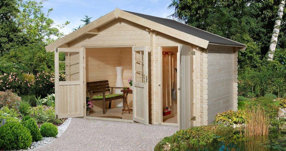 weka gartenhaus gr 1 bxt 420x260 cm inkl fu boden online kaufen otto. Black Bedroom Furniture Sets. Home Design Ideas