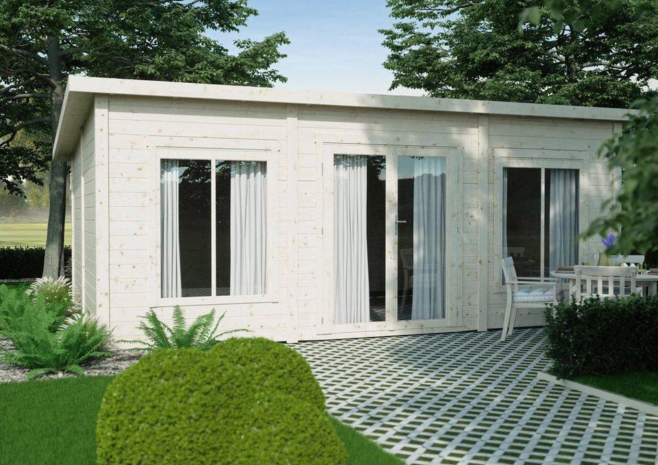 luoman gartenhaus lillevilla 488 bxt 647x445 cm inkl fu boden online kaufen otto. Black Bedroom Furniture Sets. Home Design Ideas