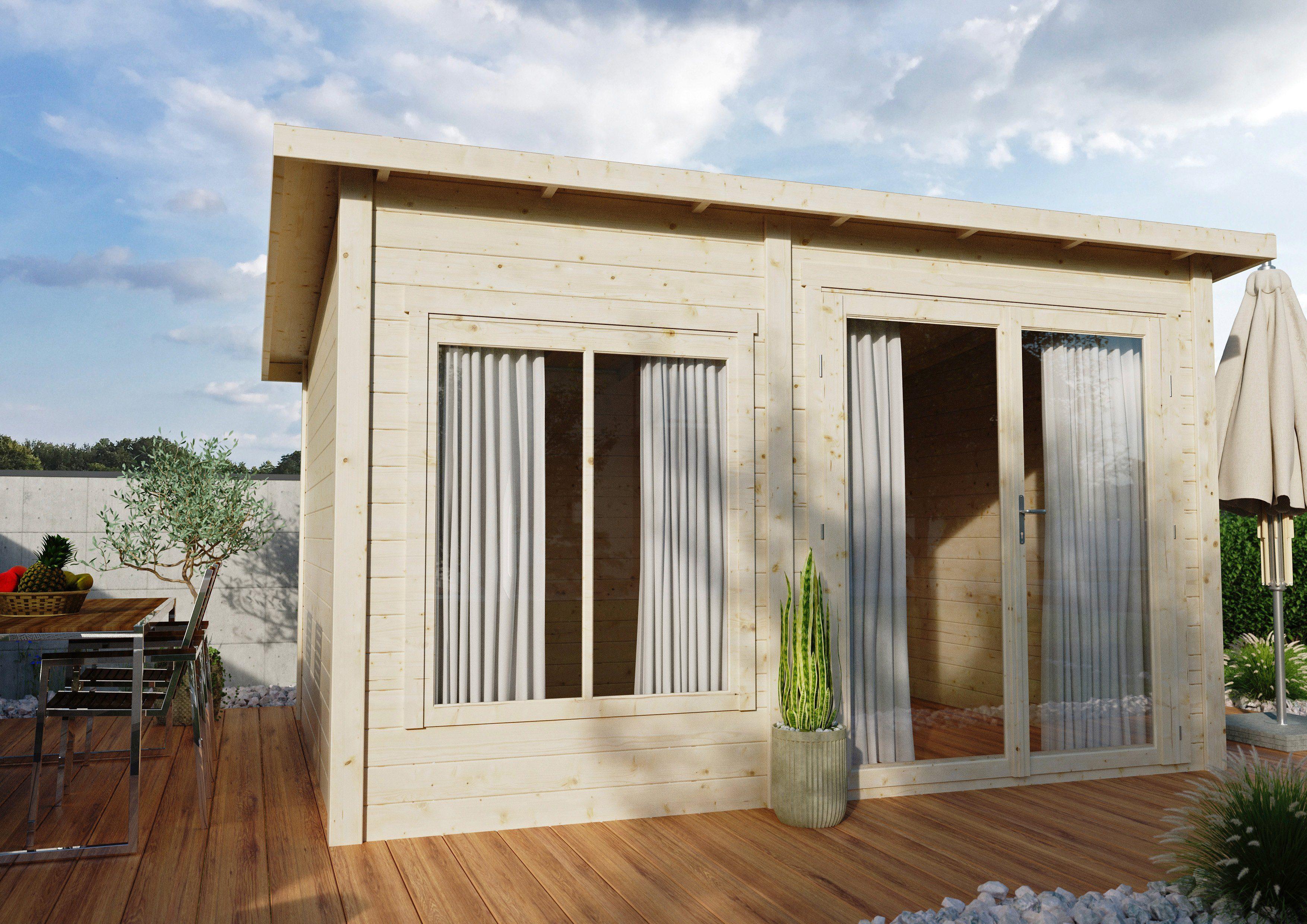 Gartenhaus Ohne Fußboden ~ Luoman gartenhaus lillevilla « bxt cm inkl