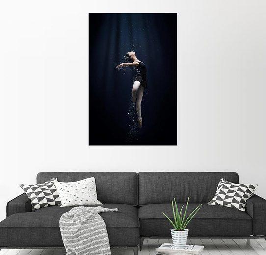 Posterlounge Wandbild - Semra Halipoglu »Tanz unter Wasser«