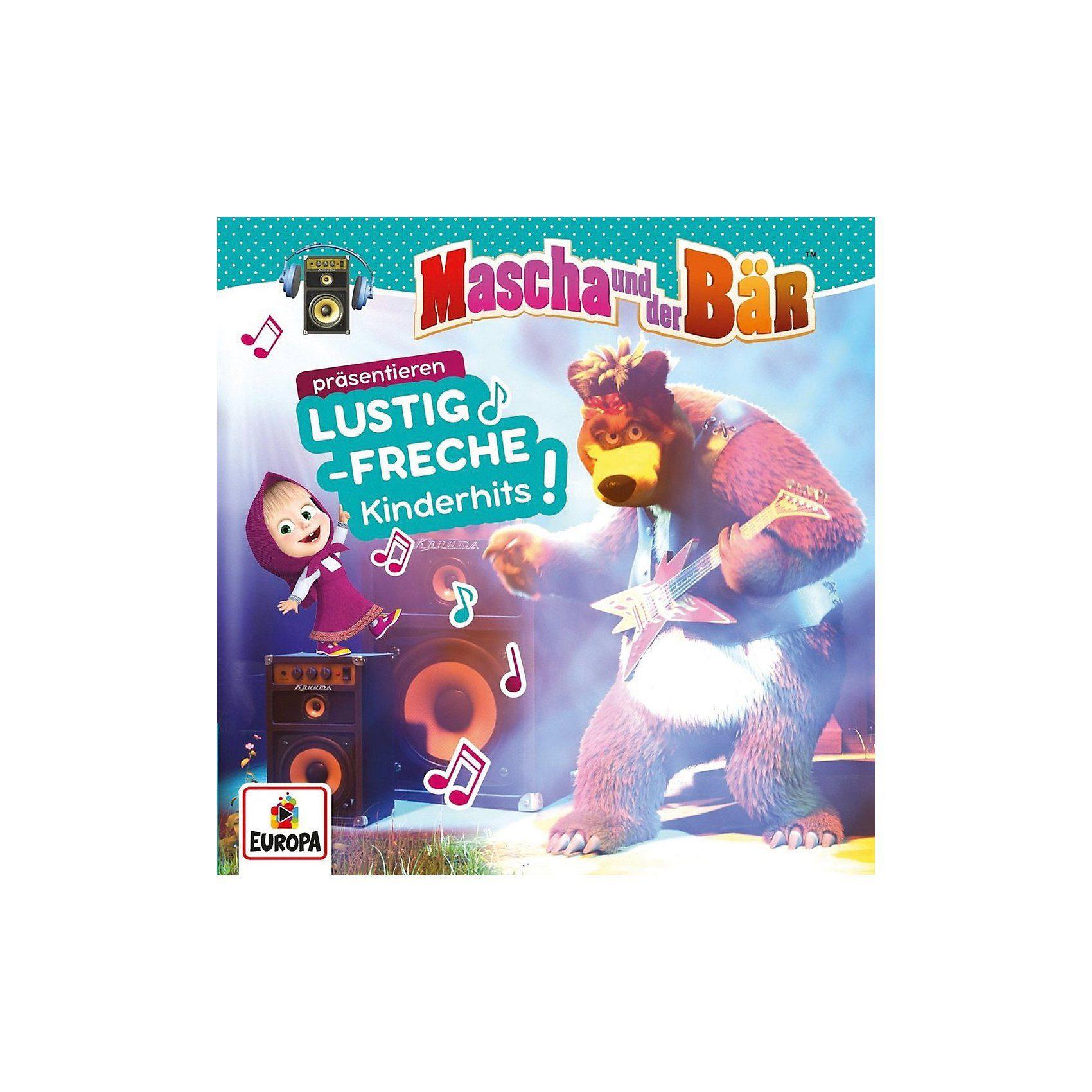 Sony CD Mascha & der Bär präsentieren lustig-freche Kinderhits