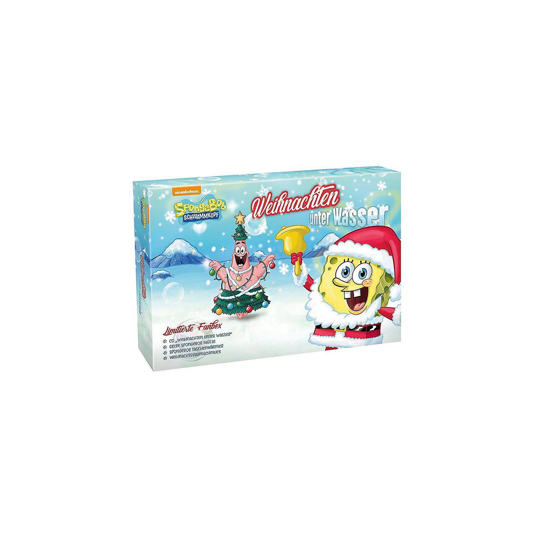 Sony CD SpongeBob Schwammkopf - Weihnachten unter Wasser (Limitie