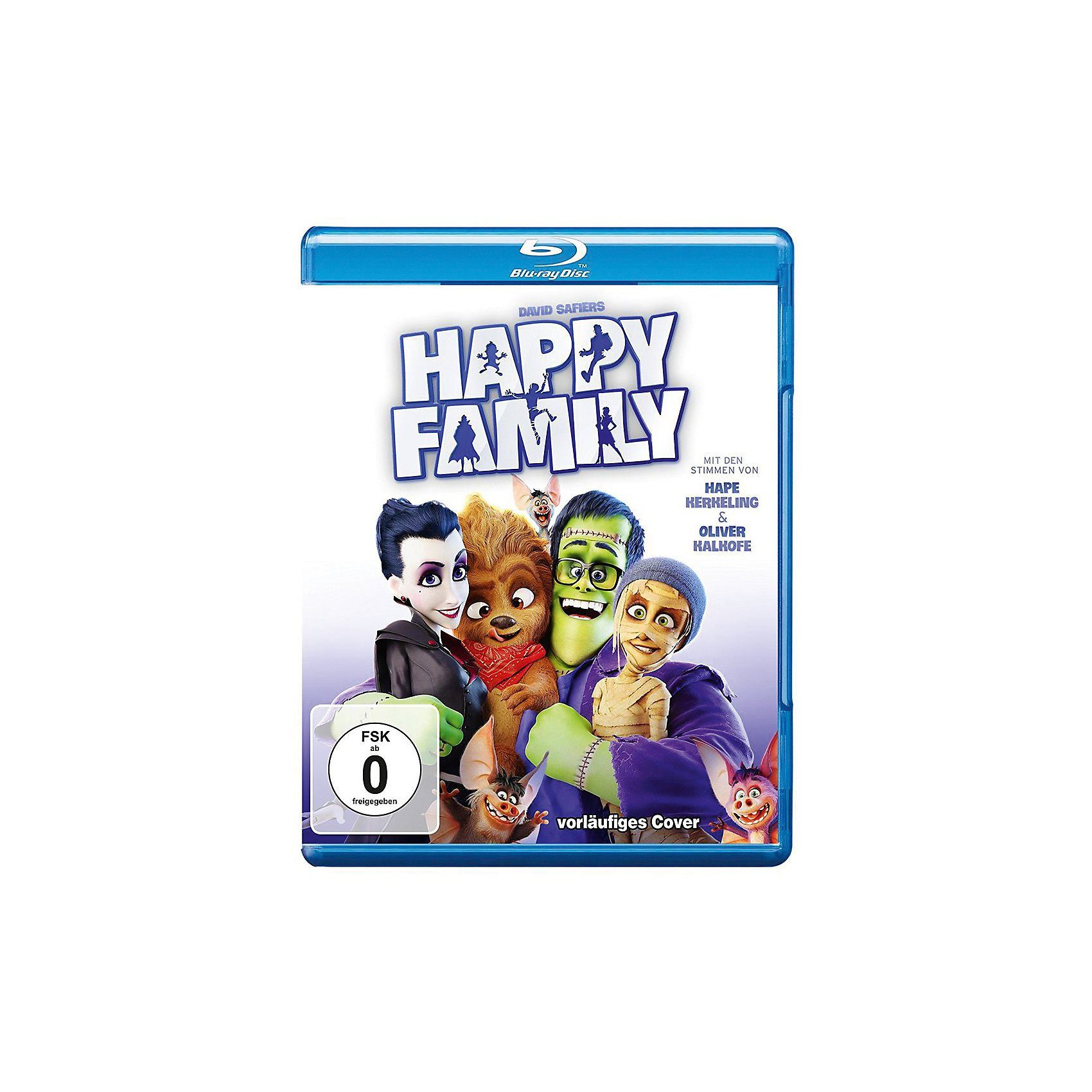 Warner Home Video BLU-RAY Happy Family