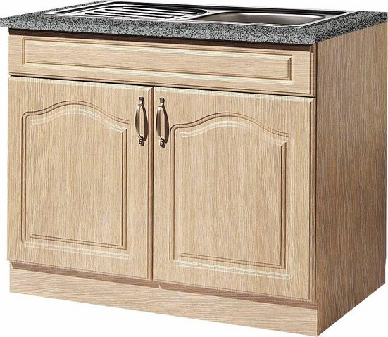 wiho Küchen Spülenschrank »Linz« 100 cm breit, inkl. Einbauspüle