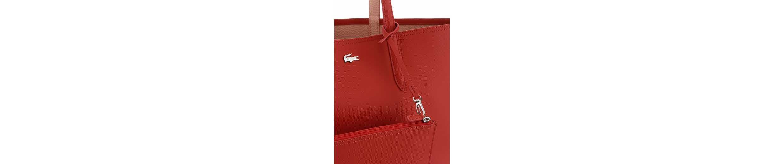 Lacoste Shopper ANNA, zum wenden, mit herausnehmbarer Reißverschluss-Tasche