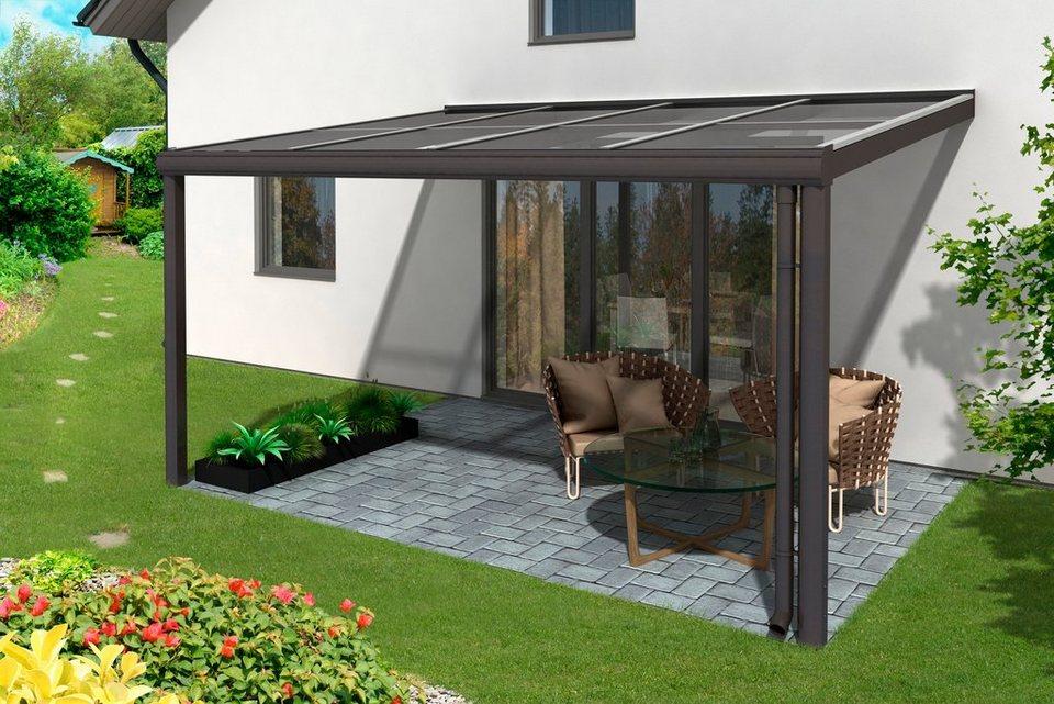 skanholz terrassendach modena breite 434 cm anthrazit online kaufen otto. Black Bedroom Furniture Sets. Home Design Ideas