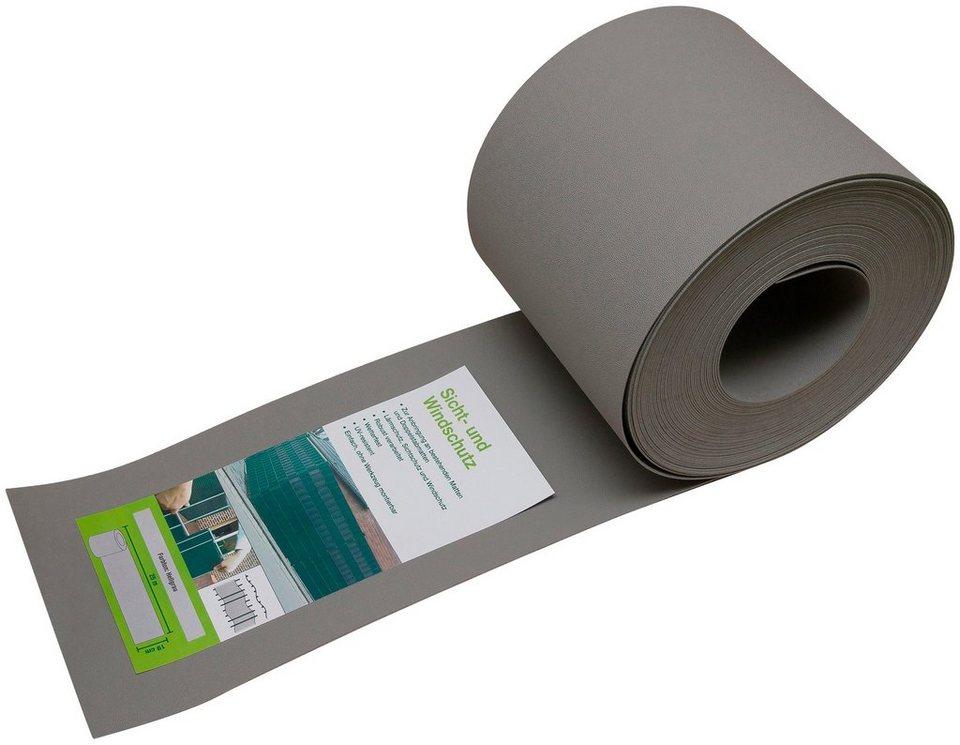 peddy shield wind und sichtschutz 25 m rolle hellgrau. Black Bedroom Furniture Sets. Home Design Ideas