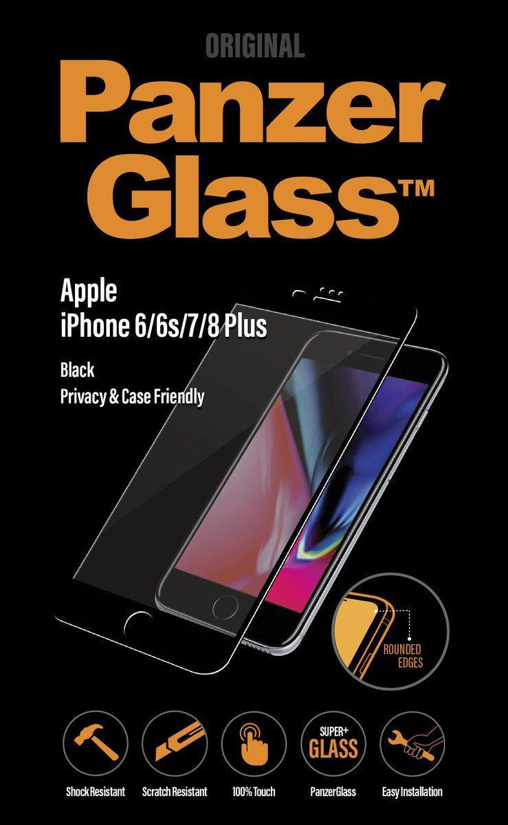 Panzerglass Folie »2,5D PRIVACY für iPhone 6/6s/7/8 Plus«