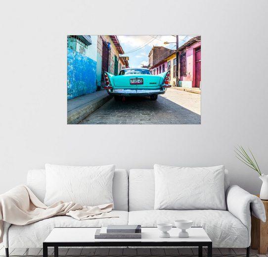 Posterlounge Wandbild - Reemt Peters-Hein »Oldtimer auf Kuba«