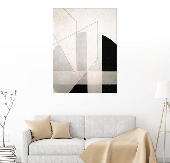 Posterlounge Wandbild - László Moholy-Nagy »Konstruktion«