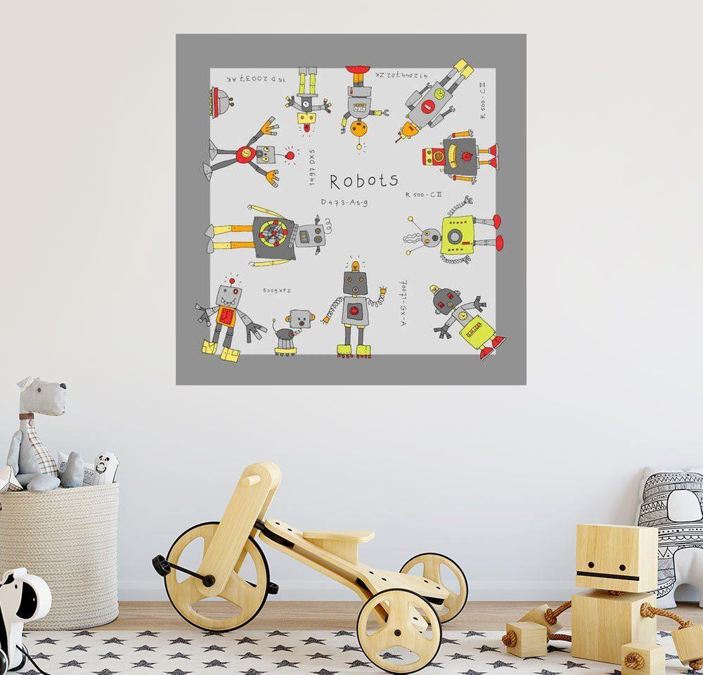 Posterlounge Wandbild - Fluffy Feelings »Roboter«