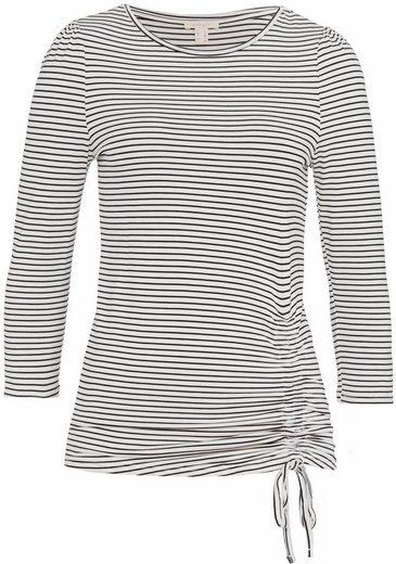 ESPRIT 3/4-Arm-Shirt, mit Streifen