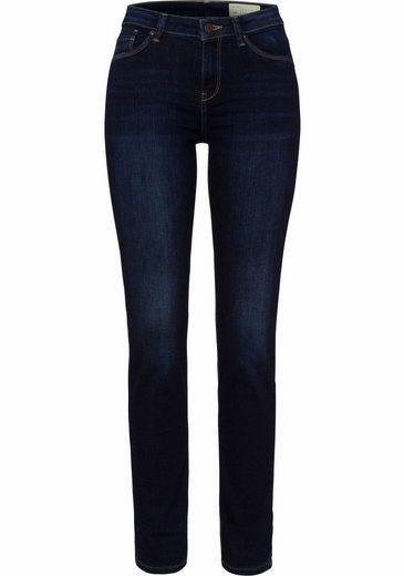 Esprit Stretch Jeans, The Slim-fit Style With Plain Bund