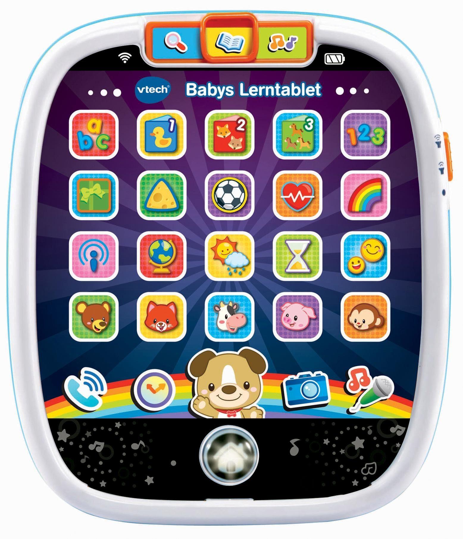 VTech Lernspielzeug mit Sound, »Babys Lerntablet«