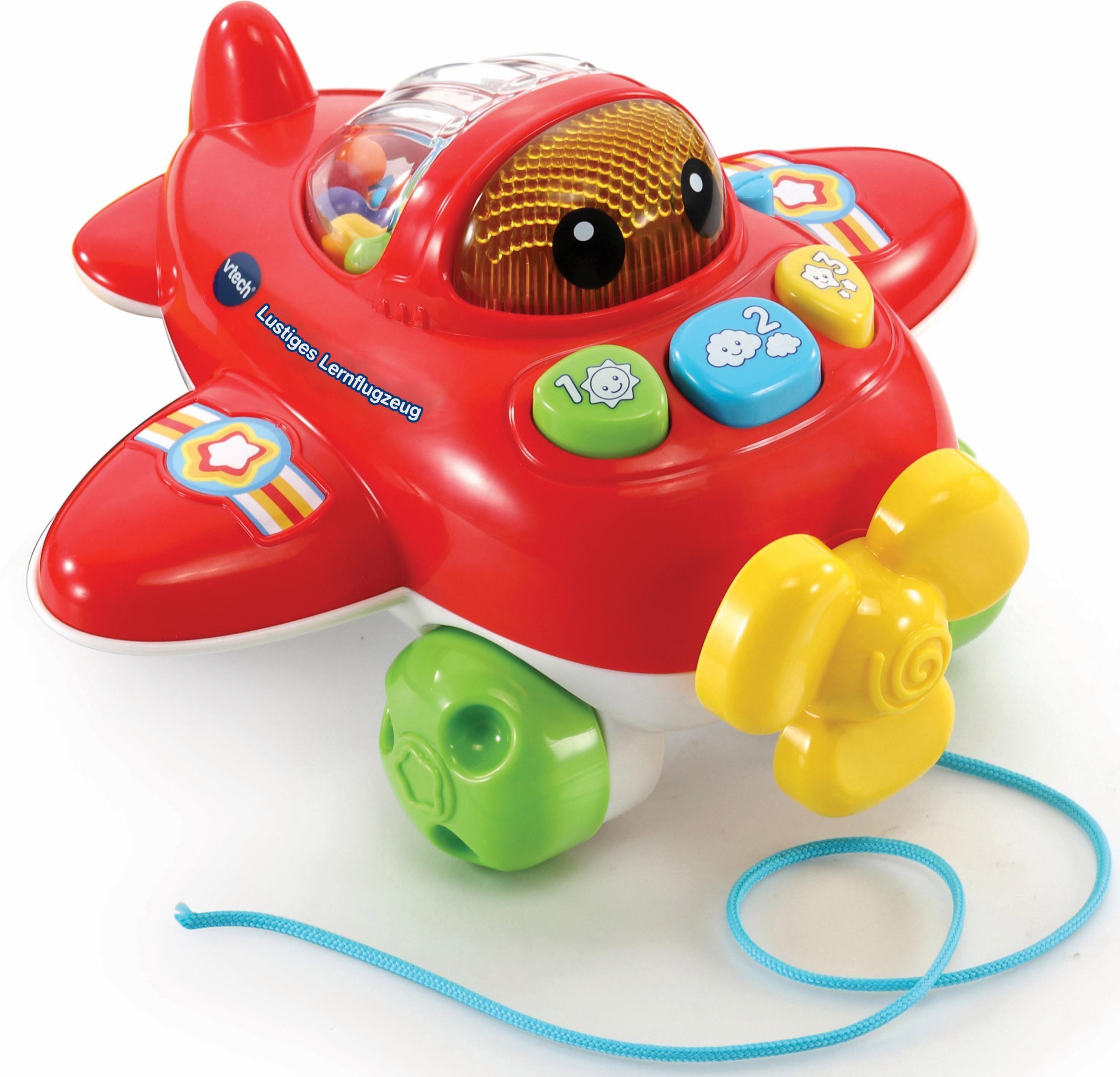 VTech Lernspielzeug mit Sound, »Lustiges Lernflugzeug«