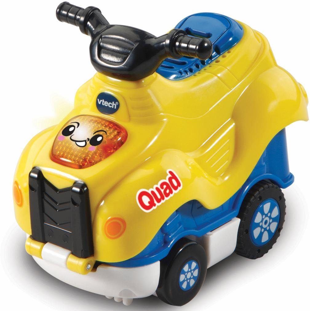 VTech Spielfahrzeug mit Licht und Sound, »Tut Tut Baby Flitzer Press & Go Quad«