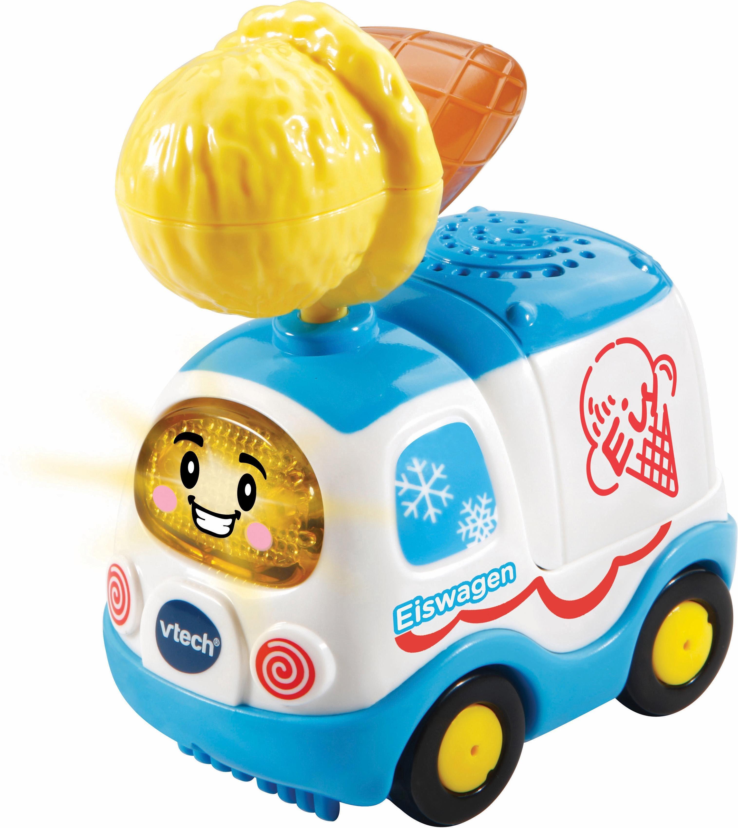 VTech Spielfahrzeug mit Licht und Sound, »Tut Tut Baby Flitzer Special Edition Eiswagen«