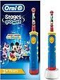 Oral B Elektrische Kinderzahnbürste Stages Power Kids, Aufsteckbürsten: 1 St., mit Disney-Micky-Maus, Bild 1