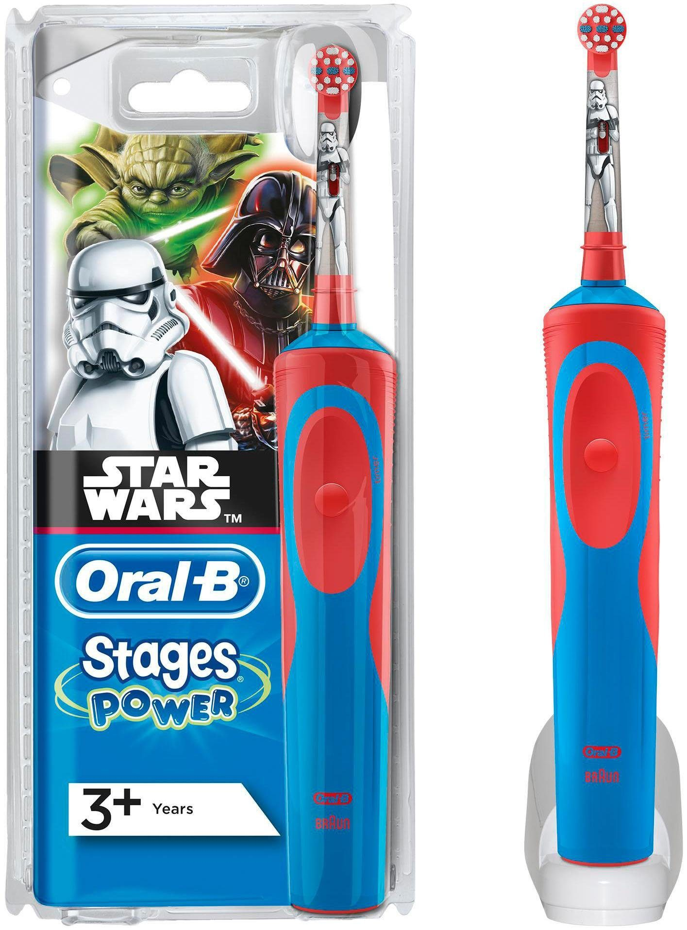 Oral-B Elektrische Kinderzahnbürste Stages Power, Star Wars