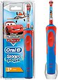 Oral B Elektrische Kinderzahnbürste Stages Power Kids, Aufsteckbürsten: 1 St., mit Disney-Autos und -Flugzeugen, Bild 1