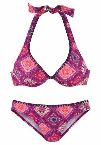 Damen Buffalo Bügel-Bikini rot | 04893865885112
