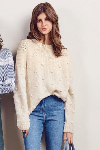 Next Sweatshirt mit Bommeln