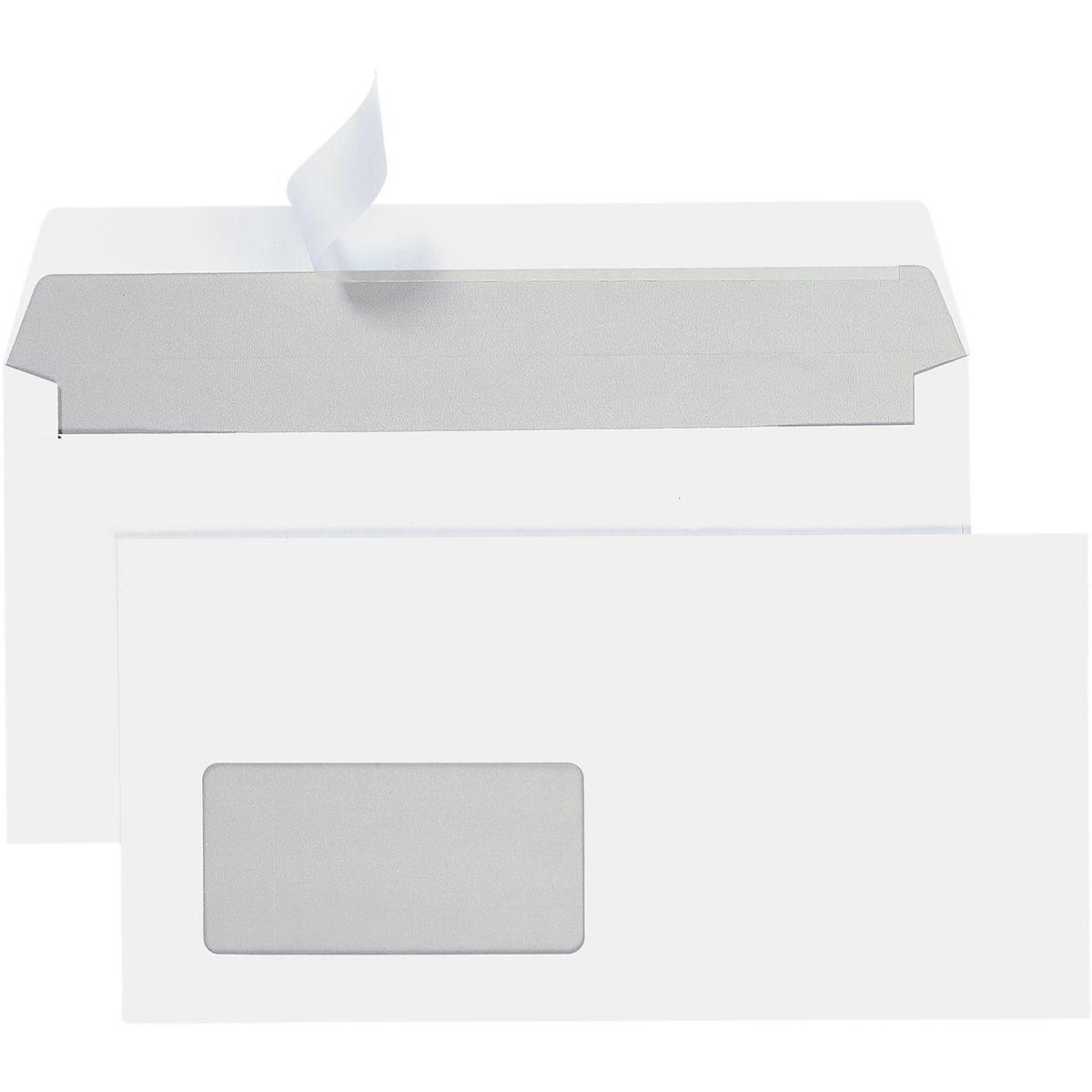 STEINMETZ Briefumschläge DL+ mit Fenster und Haftklebung - 700 St... »Umschlagbox«