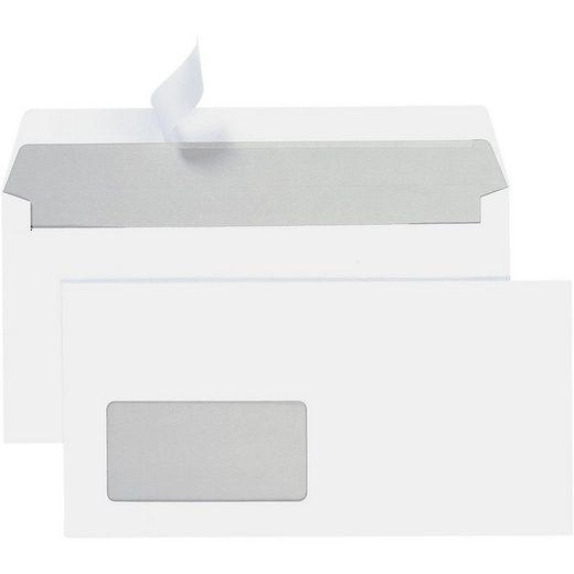 STEINMETZ Briefumschläge DL+ mit Fenster und Haftklebung - 700 Stück »Umschlagbox«