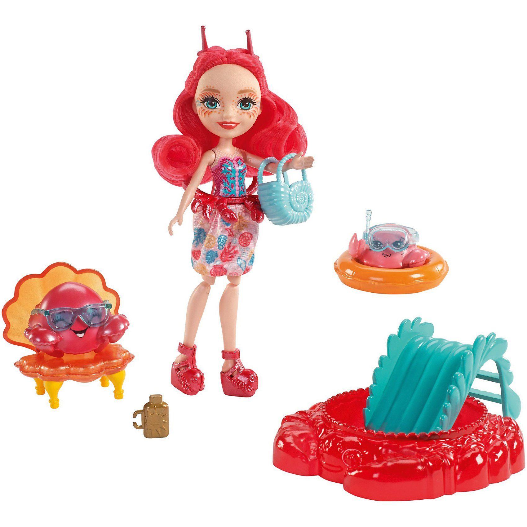 Mattel® Enchantimals Krabbenmädchen Cameo Crab