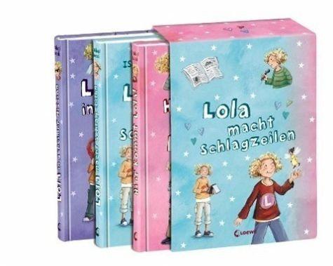 Gebundenes Buch »Hier kommt Lola! / Lola macht Schlagzeilen /...«