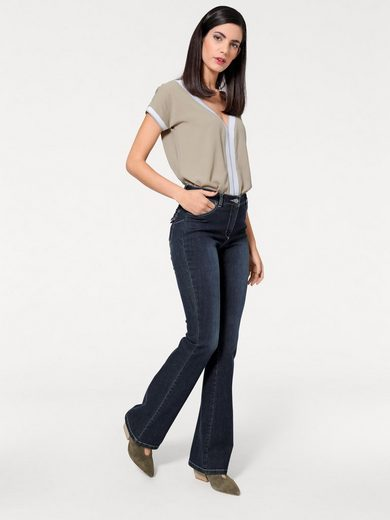 ASHLEY BROOKE by Heine Bodyform-Bootcut-Jeans