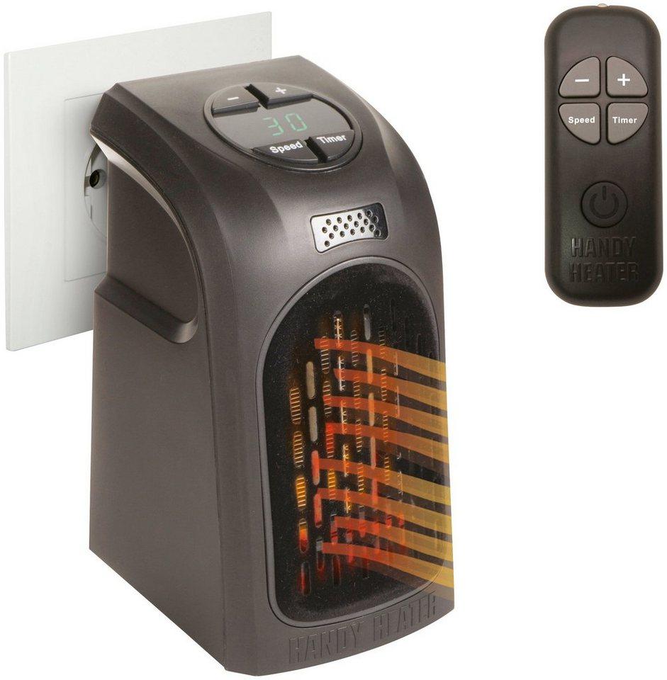 renovator heizl ftger t handy heater deluxe 500 w mit fernbedienung online kaufen otto. Black Bedroom Furniture Sets. Home Design Ideas