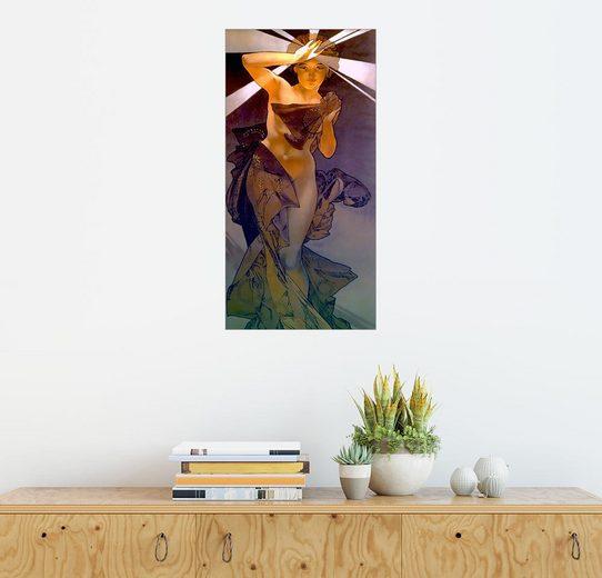 Posterlounge Wandbild - Alfons Mucha »Der Morgenstern«