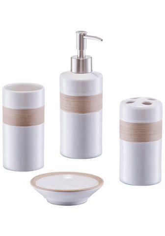 ZELLER PRESENT ZELLER Vonios priedų rinkinys 4 dalys