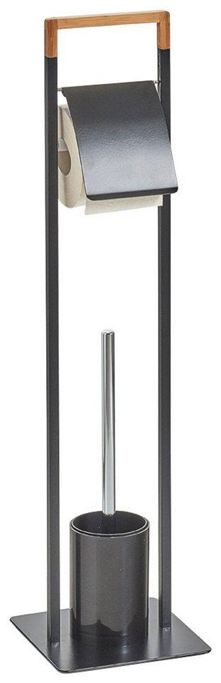 zeller wc garnitur mit austauschbarem b rstenkopf online. Black Bedroom Furniture Sets. Home Design Ideas