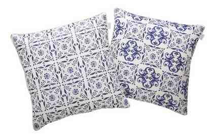 Kissenhüllen, GMK Home & Living, »Azulejo« (2 Stück)