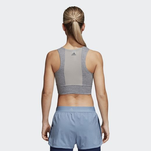 adidas Performance Sporttop Climalite Crop Top