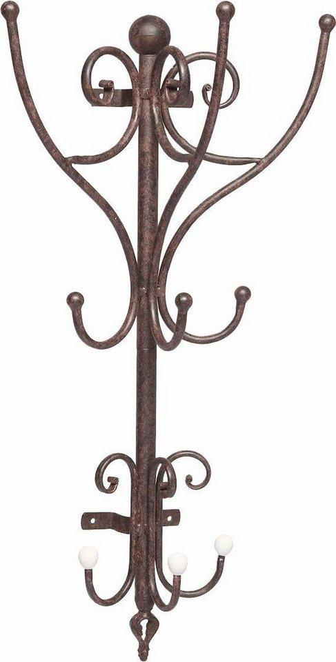 home affaire garderobe halbrund antikbraun kaufen otto. Black Bedroom Furniture Sets. Home Design Ideas