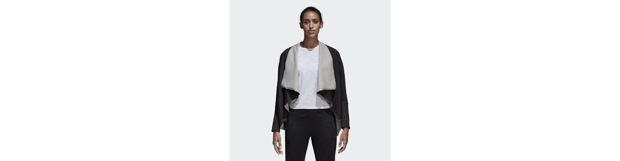 Exklusiv adidas Performance Longpullover ID Twist n Turn Cardigan Neue Art Und Weise Stil 60FGsqTnW