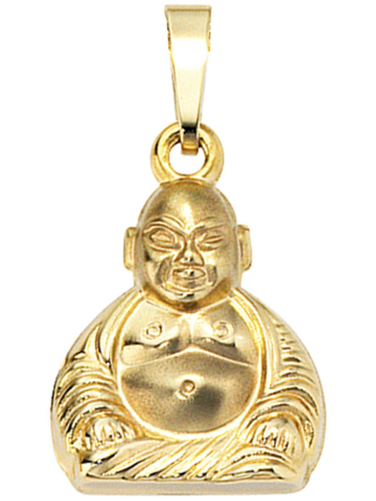 Adelia´s Kettenanhänger »Buddha Anhänger« 333 Gold