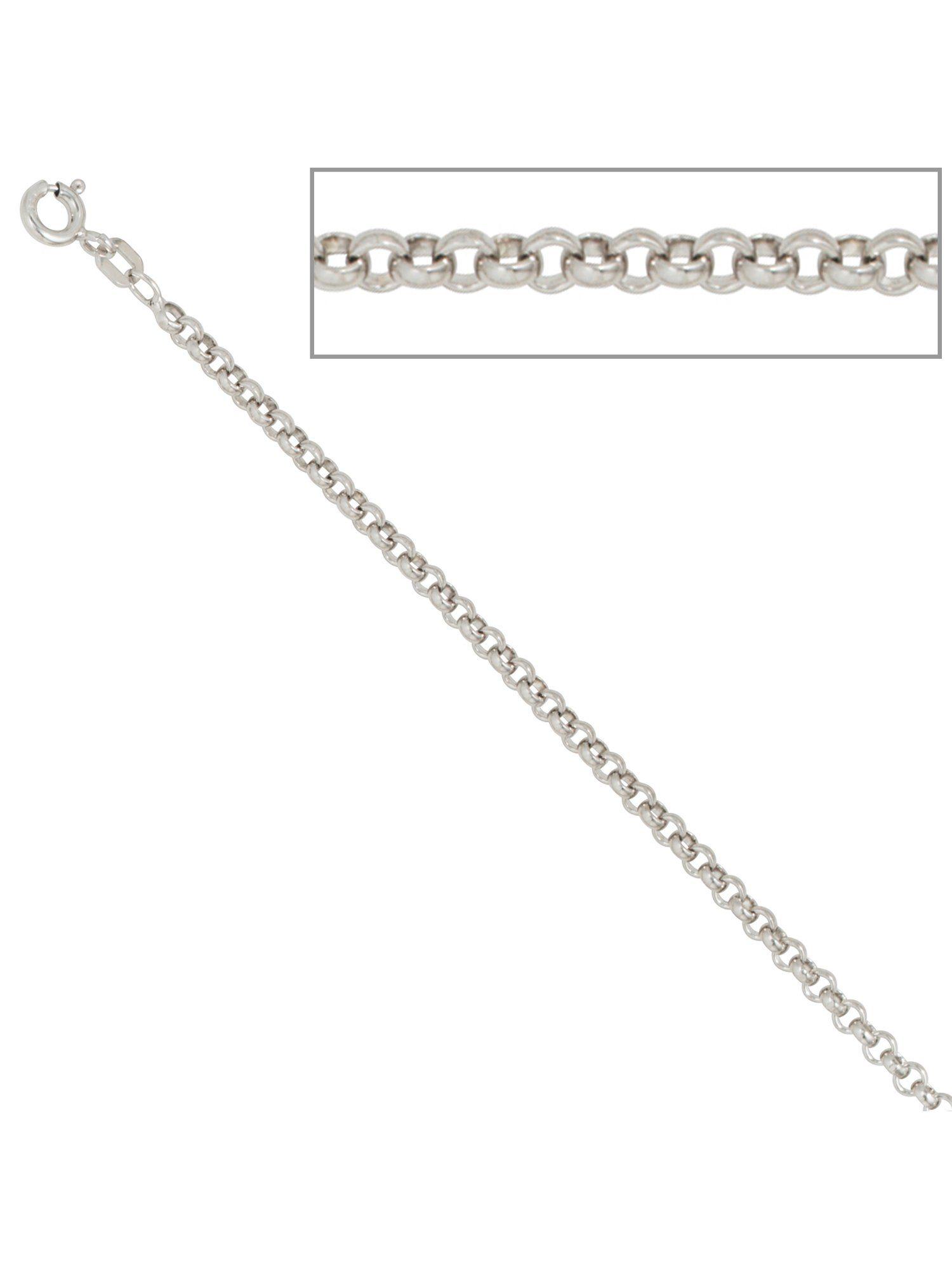 Adelia´s Kette ohne Anhänger »Erbskette« 925 Silber Ø 2,50 mm L - 80 cm