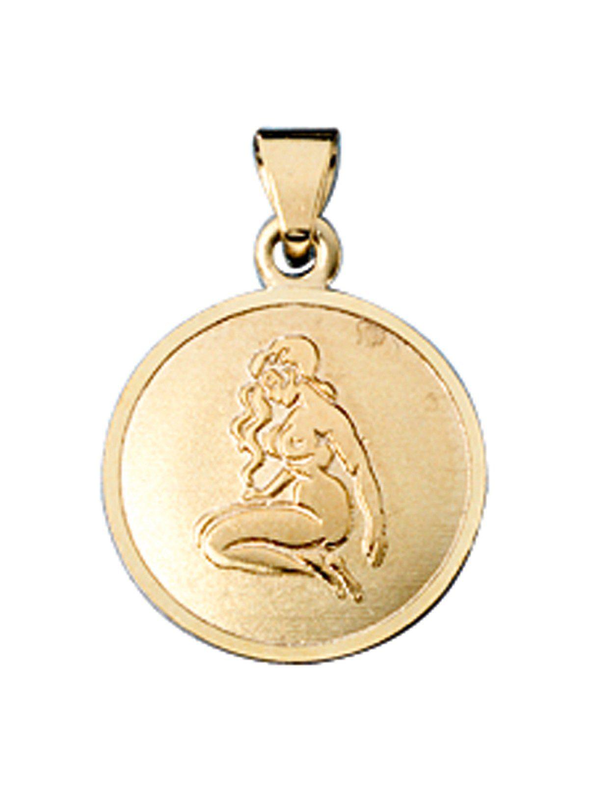 Adelia´s Sternzeichenanhänger »Sternzeichen Jungfrau Anhänger« 333 Gold Ø 12,30 mm