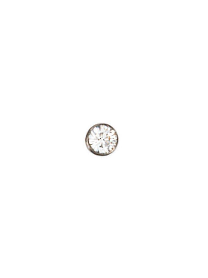 Adelia´s Nasenpiercing Edelstahl mit Swarovski Kristall Ø 2,20 mm   Schmuck > Piercings > Sonstige Piercing   Adelia´s